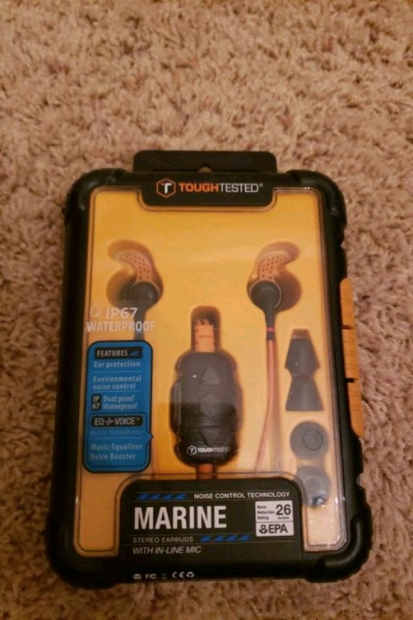 Used Marine stereo earbuds for sale in Lubbock - letgo
