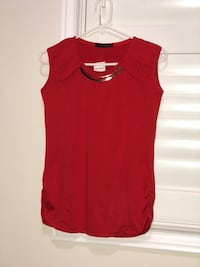 women's red sleeveless dress Brampton, L6V 4J6