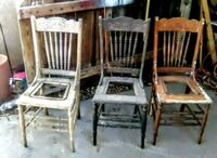 Antique project chairs Modesto, 95350