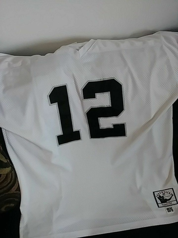 finest selection 6d113 cb328 Ken Stabler throwback jersey by Mitchell & Ness