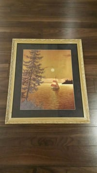 Gold Frame Painting