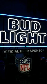 NFL Budweiser Light.. Plugs In.  Sacramento, 95815