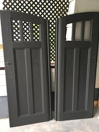 Shed doors for sale from lifetime shed at Costco new in the box asking 200$ for both Sainte-Thérèse, J7E 4G9