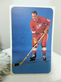 Hockey Card Gordie Howe  Toronto, M9N 2S4