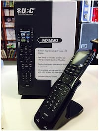 URC MX 890 Universal Remote w/ Charging Cradle.