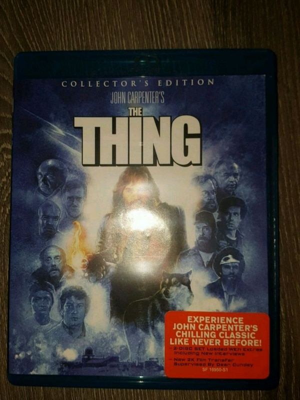 The Thing (blu-ray) 2K Restoration From Scream Factory 0