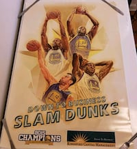 Golden State Warroirs Poster - Down To Business  Santa Rosa, 95404