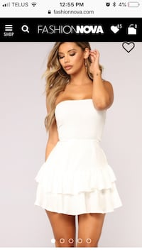 Fashion Nova white dress  Toronto, M1E 1L8