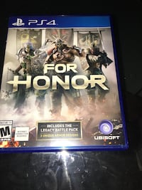 For Honor PS4 Williamsburg, 23185