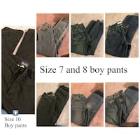Size 7 & 8 boy jeans  Germantown, 20874