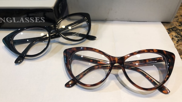Cat eye Personality Glasses
