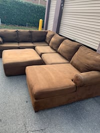 Sectional and Ottoman  Virginia Beach, 23455