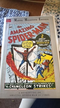 Amazing Spider-Man #1 reprinted in  1992