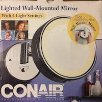 con air light wall mounted mirror new in box Madison, 53714