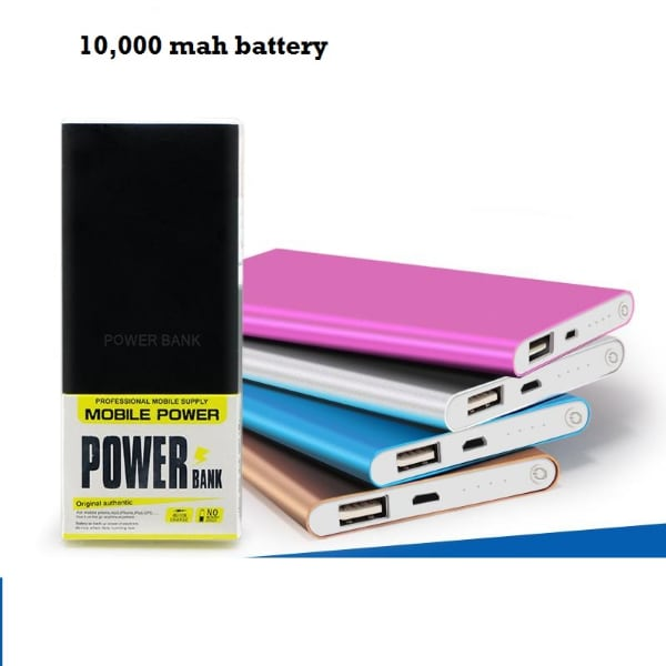 high capacity power bank slim and light -weight