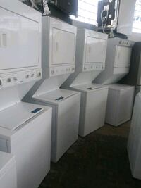 """Stackable 27"""" washer dryer Working perfectly  Baltimore, 21223"""