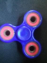 blue Fidget hand spinner WASHINGTON