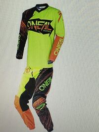 Yellow and black O'Neal motor cross jersey and pants  Winchester, 22602