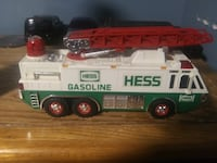 black and red Hess truck toy BELTSVILLE
