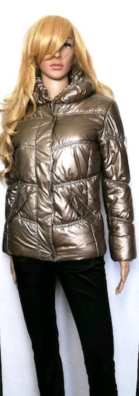 Metallic Winterjacke sehr warm GR.XS