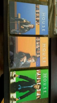 House DVDs Seasons 1, 2, and 4 37 km