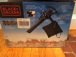 BLACK+DECKER Corded Electric Leaf Blower (w/extension cord!)