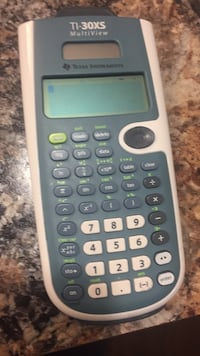 gray Texas Instruments TI-30XS calculator Washington, 20032