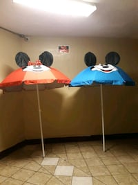 Mickey and minnie mouse beach umbrella  The Bronx, 10474