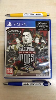 Sleeping dogs Ps4 oyun