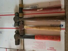 Old Ball Pein Hammers