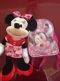 Minnie Mouse and bag  Sherwood Park, T8H 2V3
