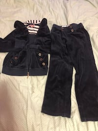 Juicy Outfit Velour Size 8 pant 12 top Toronto, M4Y 1K7