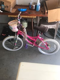 Toddler's pink and white bicycle Spartanburg, 29303