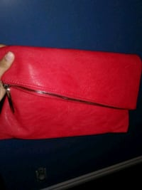 women's red leather sling bag Calgary, T3J 2A2