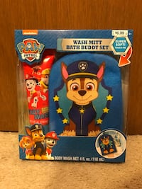 Brand new Paw Patrol Wash Mitt Bath Buddy Set Concord, 94518