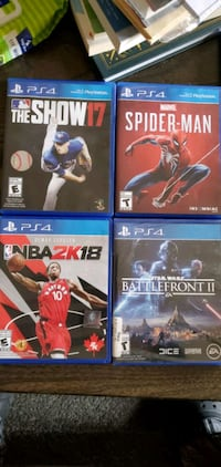 Multiple PS4 games for sale
