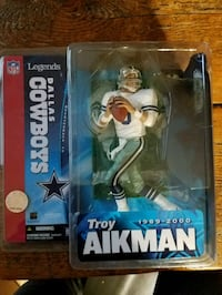 New in box Troy Aikman action figure  Carol Stream, 60188