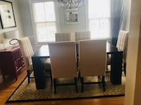 Modern Dining Set w/ 6 Chairs w/ Optional Extras KENSINGTON