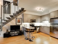 Glass TV stand Toronto