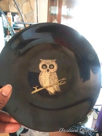 antique hand crafted owl plate Jacksonville, 32225