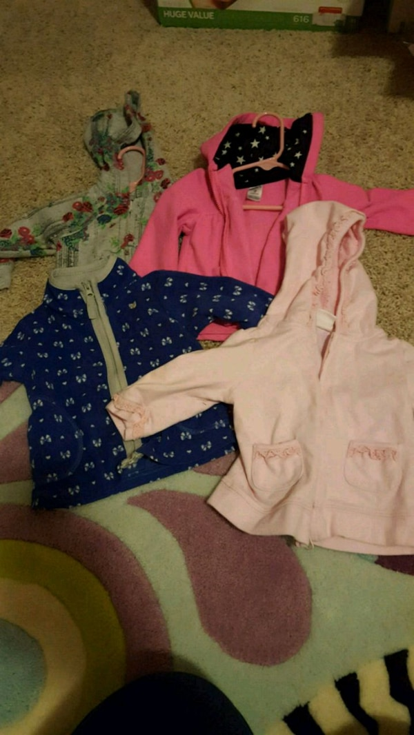 9 Month jackets