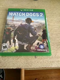 Watch Dogs 2 Xbox One game case Dover, 19904