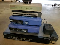 Network switches and router bundle!