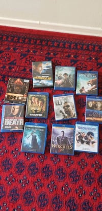 3D and blue Ray movies in good condition  Toronto, M1L 1K9