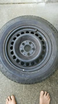195/65R15 with rim60%tred Surrey, V3V 5V4