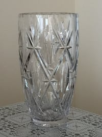 clear cut glass vase with lid Toronto, M2K