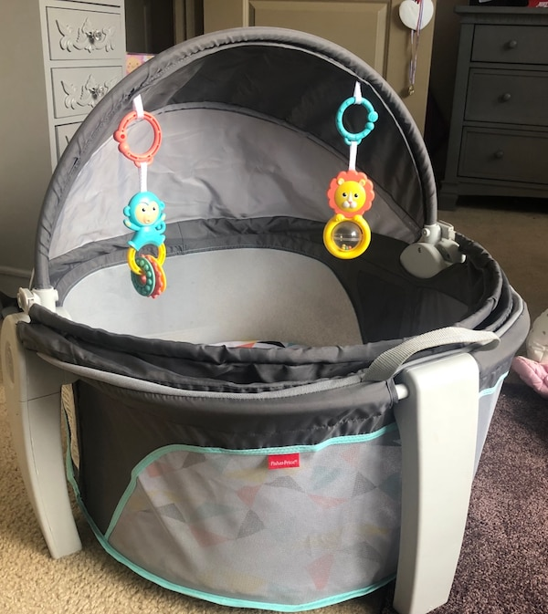 70c4aed52576 Used On-The-Go Baby Dome - Fisher Price for sale in Atlanta - letgo
