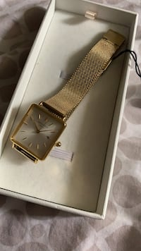 Rosefield Gold Watch New with Tags