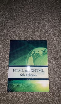 HTML and XHTML 6th edition Stafford, 22554