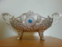 Elevated Large Silver Plated Dish   Mississauga, L5N 2X2